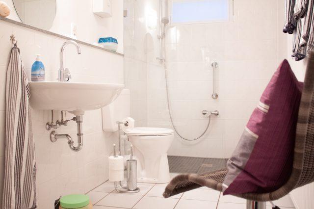 Ferienwohnung Badezimmer Dusche
