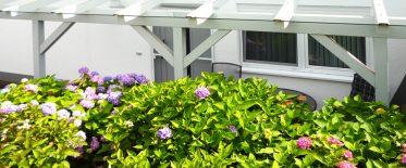 Terrasse, gemütliche Sitzecke